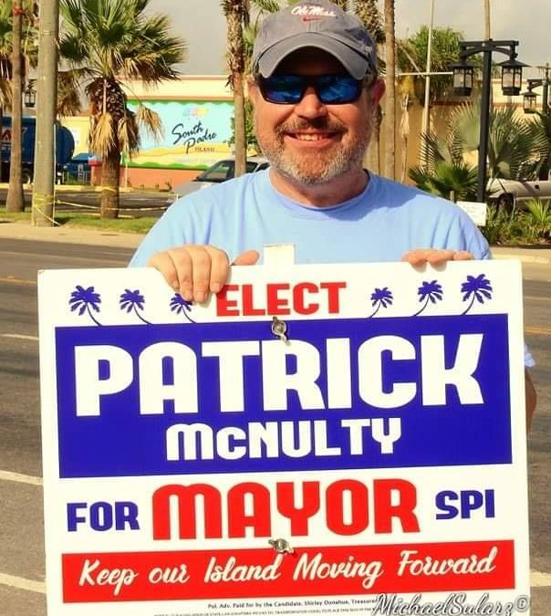 Still time to #VoteforPatrick.   Polls close at 7pm at city hall.